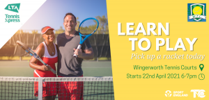 Learn to play tennis at Wingerworth